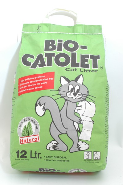 Bio Catolet Cat Litter 12L