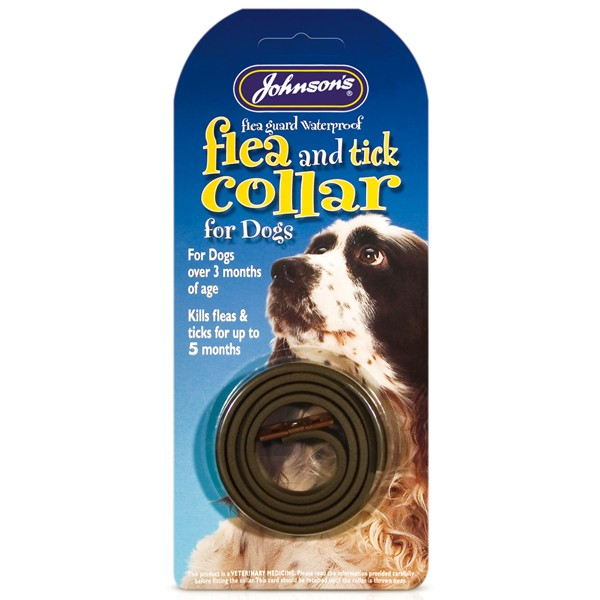 Johnsons Flea and Tick collar for dogs 60Cm