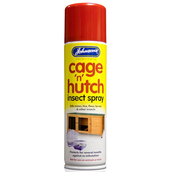 Johnsons Cage 'n' Hutch Insect Spray 250ml