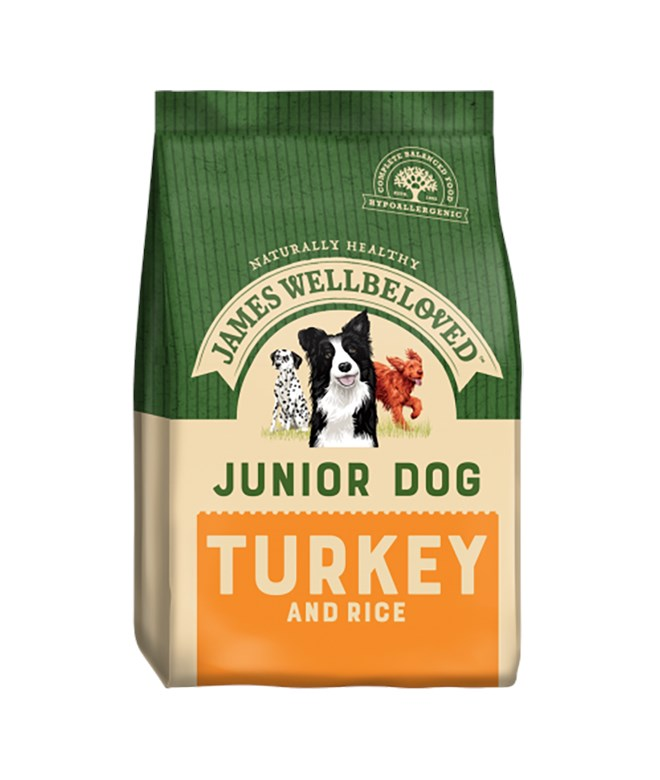 James Wellbeloved Dog Junior Turkey and Rice 15kg