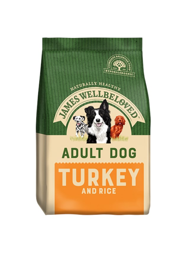 James Wellbeloved Dog Adult Turkey and Rice 15Kg