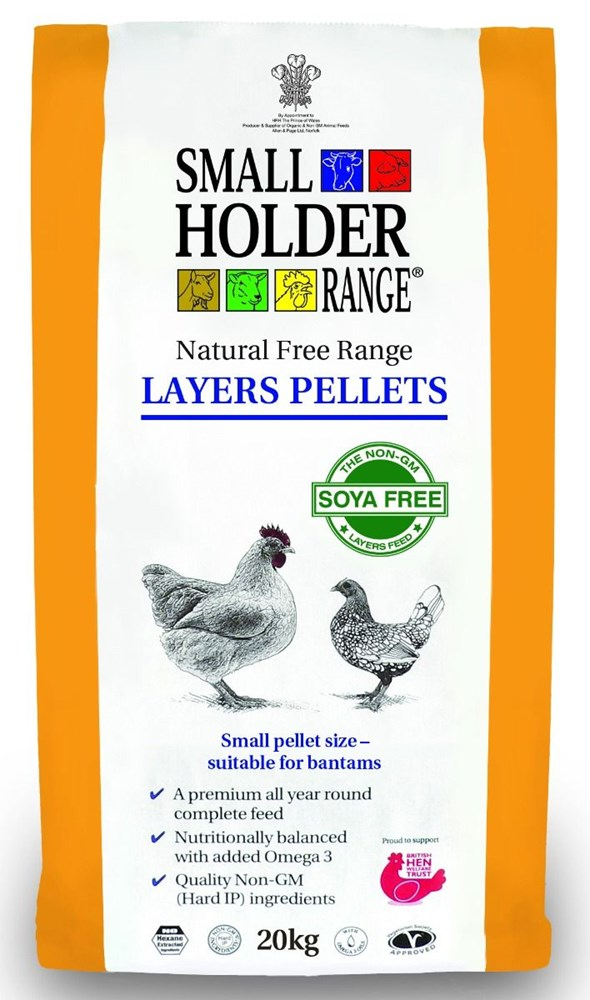 Allen and Page Layers Pellets 20Kg