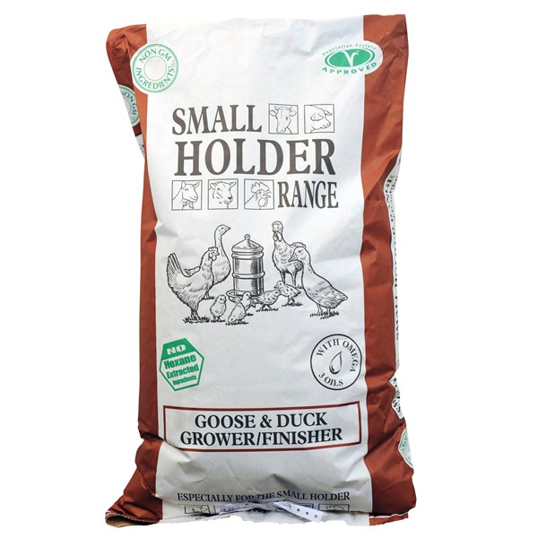 Allen and Page Goose and Duck Grower / Finisher Pellets 20kg