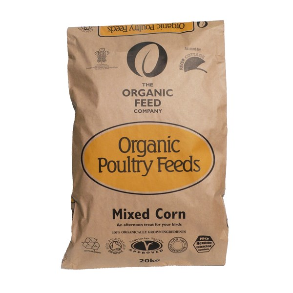 Allen and Page Organic Mixed Corn 20kg