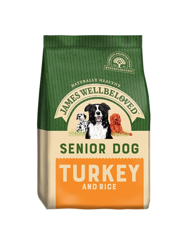 James Wellbeloved Dog Senior Turkey and Rice 15kg
