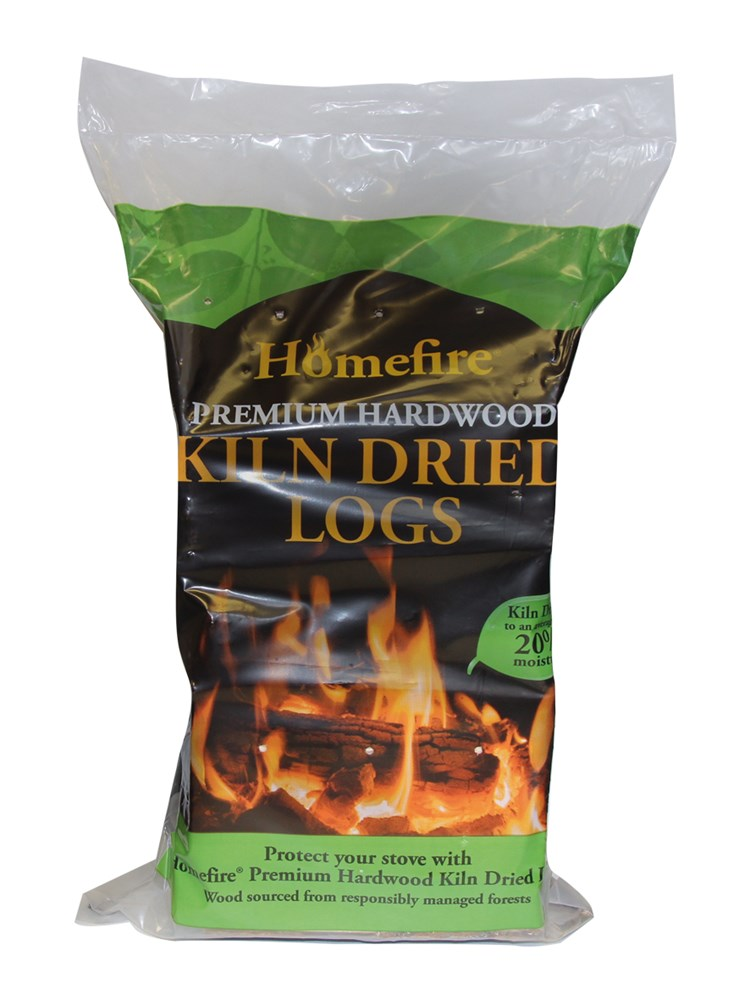 Homefire Kiln Dried Hardwood Logs 6/7kg