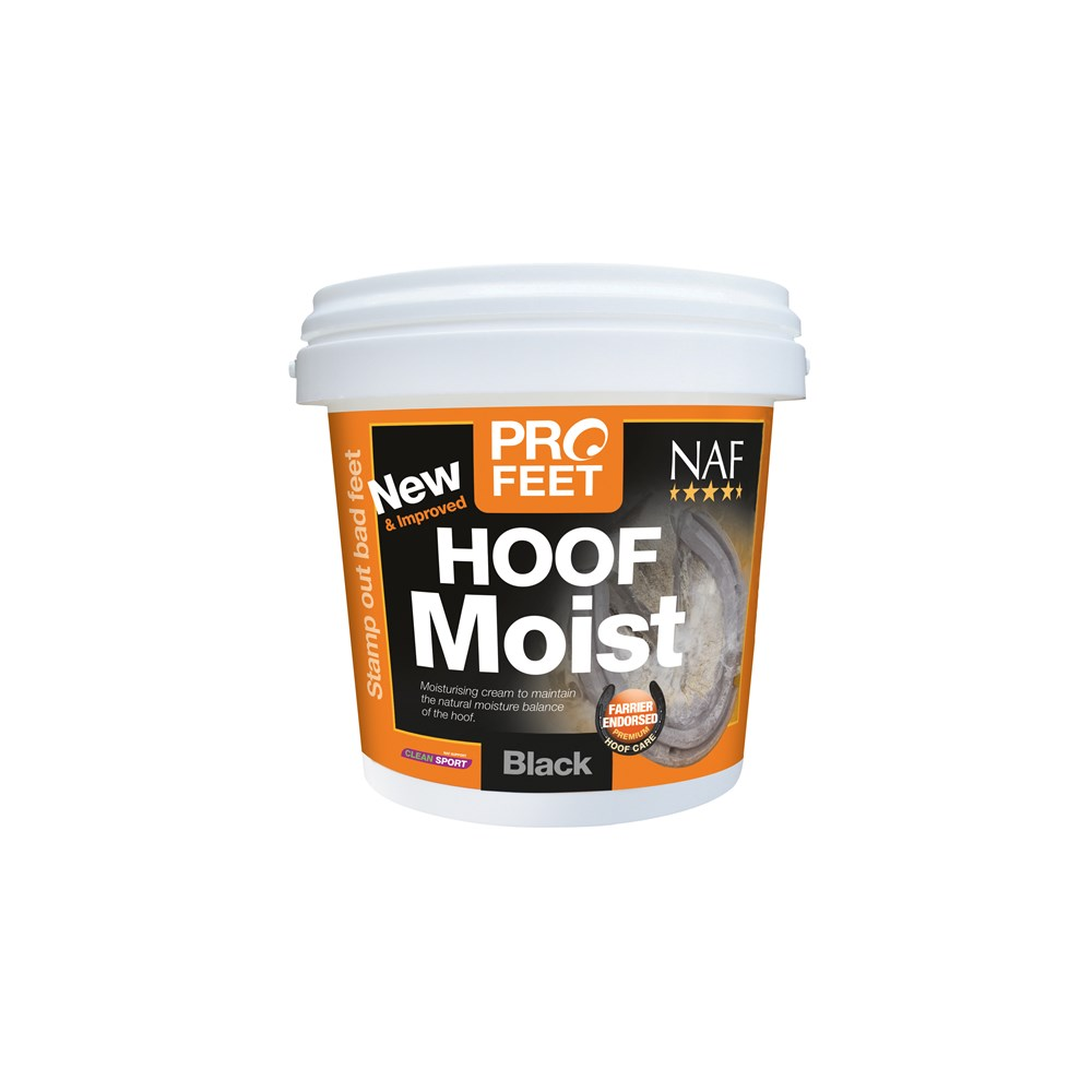 NAF Pro Feet Hoof Moist Cream Black 500g
