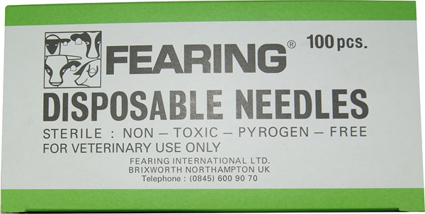 "Disposable Needle 18G X 3/4"" Each"