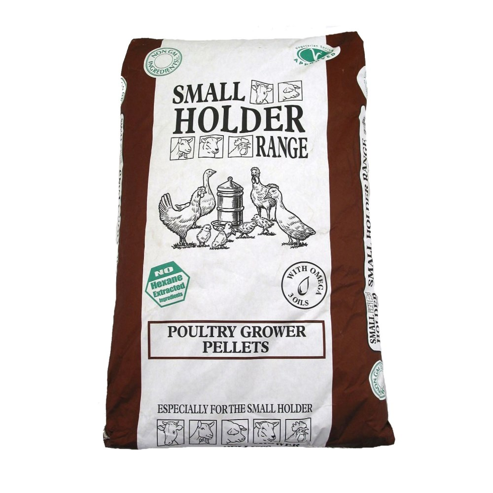 Allen and Page Poultry Growers Pellets 20kg