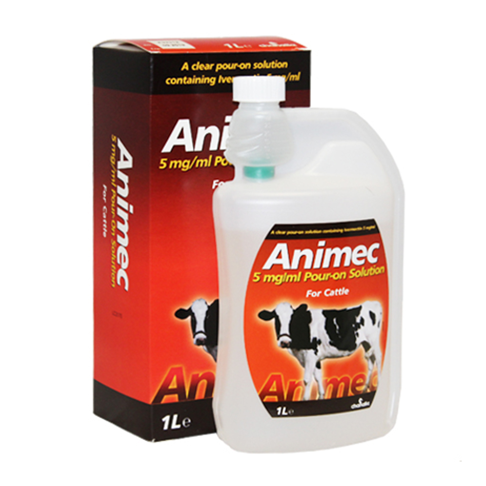 ANIMEC CATTLE POUR ON 1L