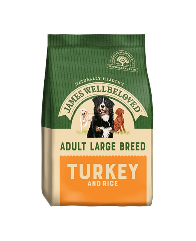 James Wellbeloved Dog Large Adult Turkey And Rice 15Kg