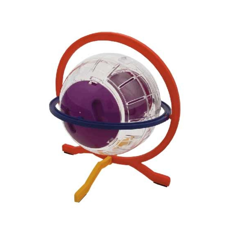 Fuzzballs Hamster Playball with Stand
