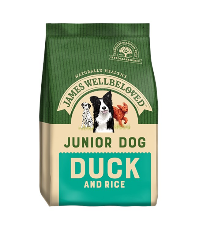 James Wellbeloved Dog Junior Duck and Rice 2kg