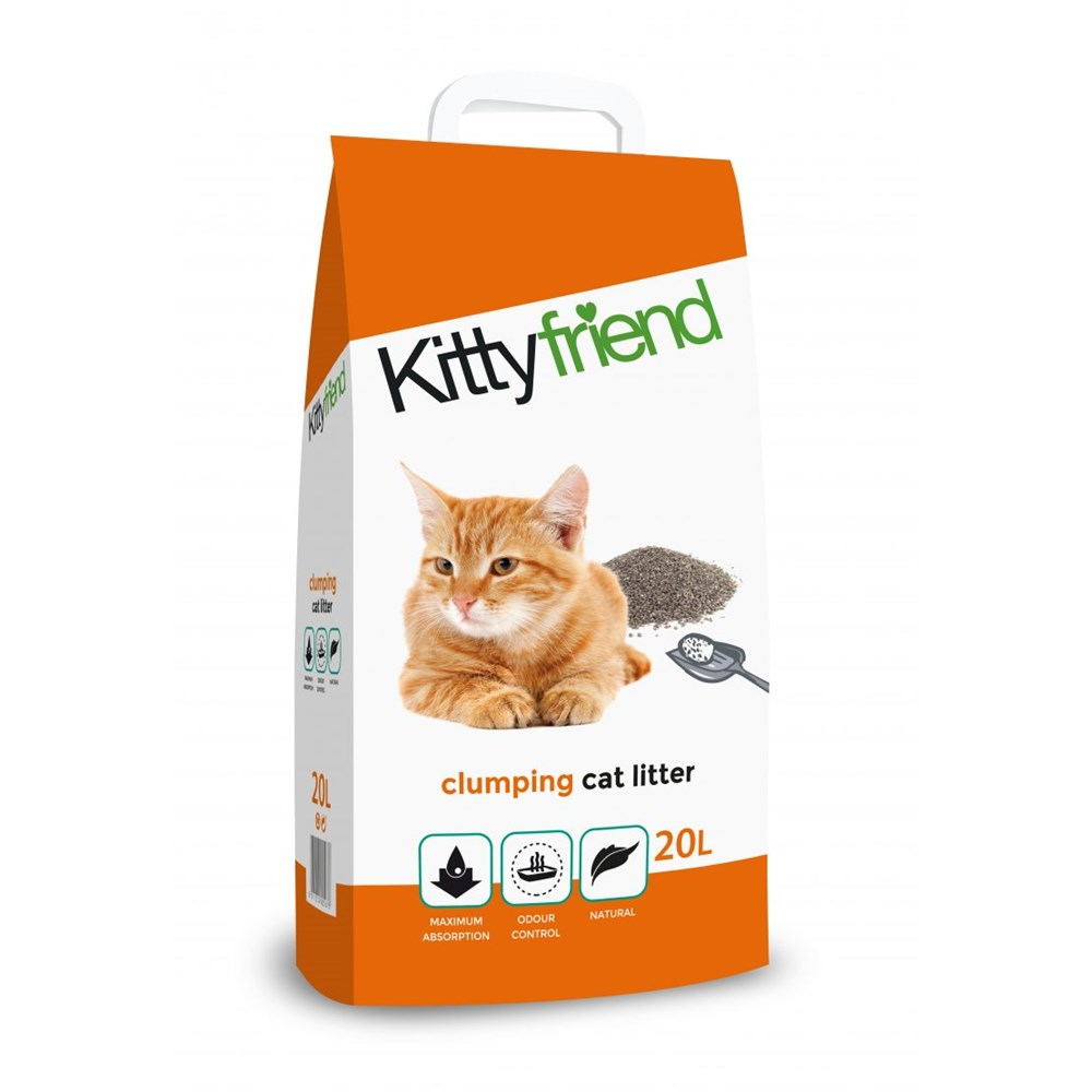 Kittyfriend Clumping Cat Litter 20L