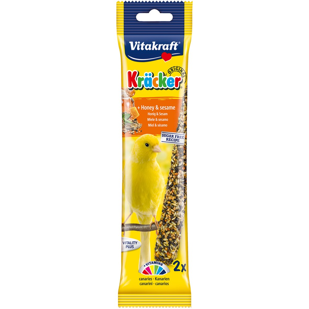 Vitakraft Canary Honey Sticks 58g (2 pack)