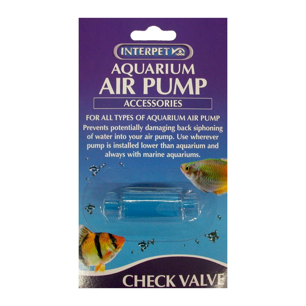 Aqua air pump check valve