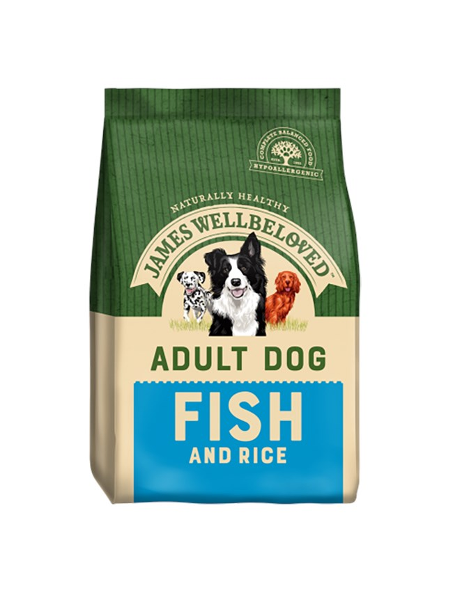 James Wellbeloved Dog Adult Fish and Rice 15kg