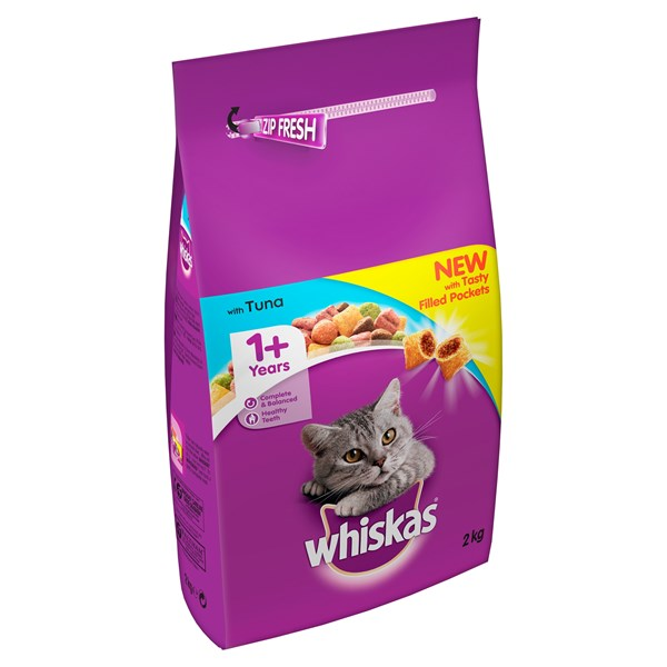 Whiskas Complete Adult Cat Food with Tuna 2Kg
