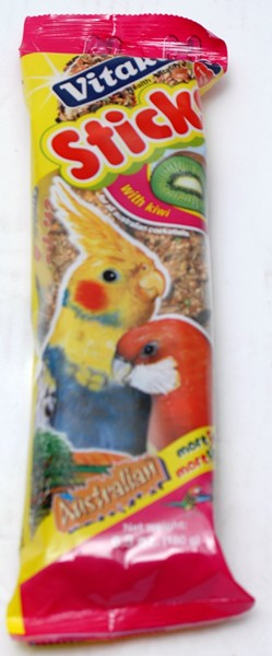VK PARROT HONEY/ANIS STICKS 180G 2PK