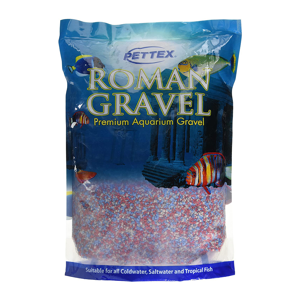 Aquatic Gravel Tri-Colour Mix 2Kg