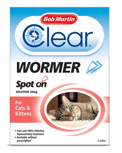Bob Martin Spot On Dewormer Cat And Kittens (2 pack)