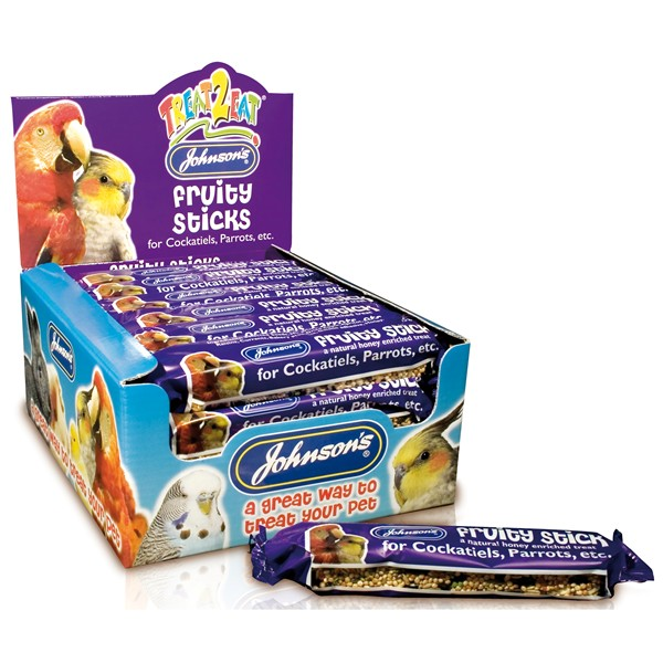 Johnsons Fruity Stick Cockatiel 45g