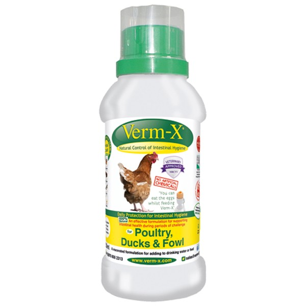Verm-X Herbal Liquid For Poultry 250ml