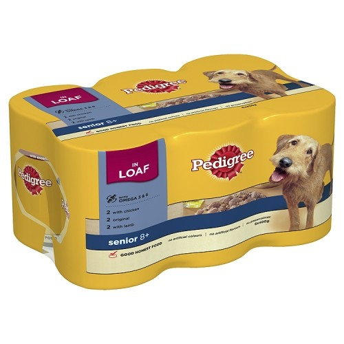 Pedigree Chum Senior Multi 6 x 400g
