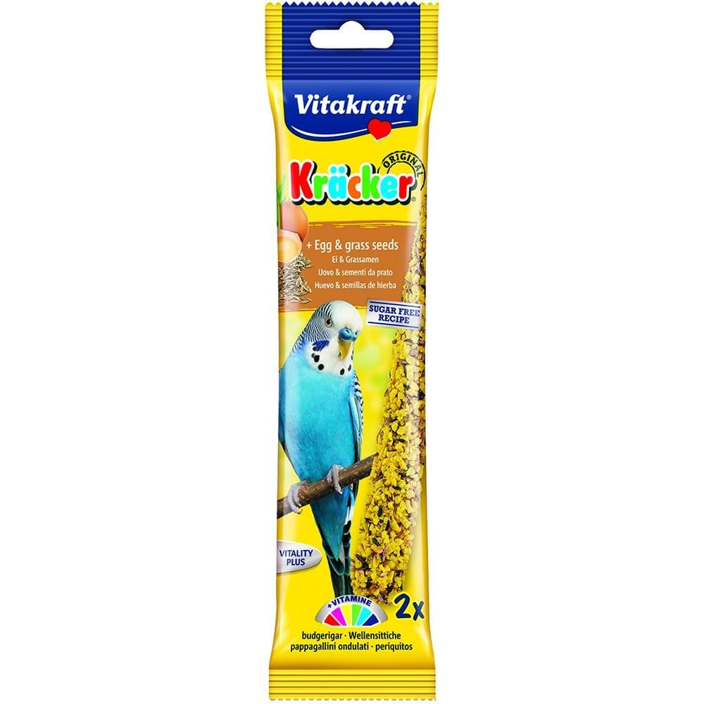 Vitakraft Budgie Egg Sticks 60g