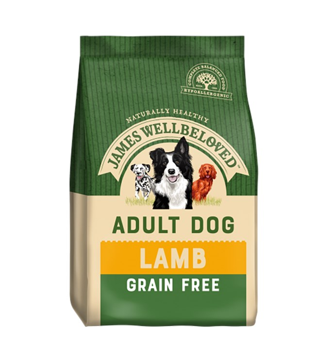 James Wellbeloved Dog Adult Grain Free Lamb 10kg