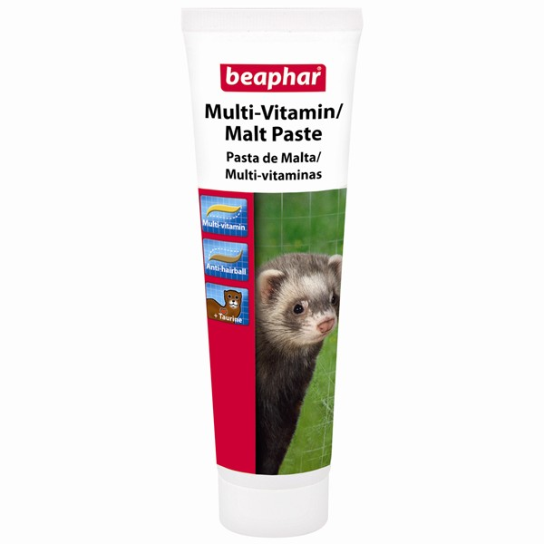 Beaphar Multi Vitamin / Malt Paste for Ferrets 100g