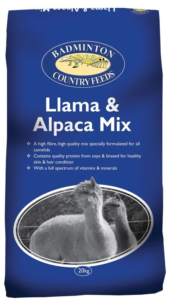 Badminton Llama And Alpaca Mix 20Kg