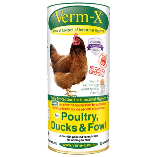 Verm-X Herbal Pellets For Poultry 250g
