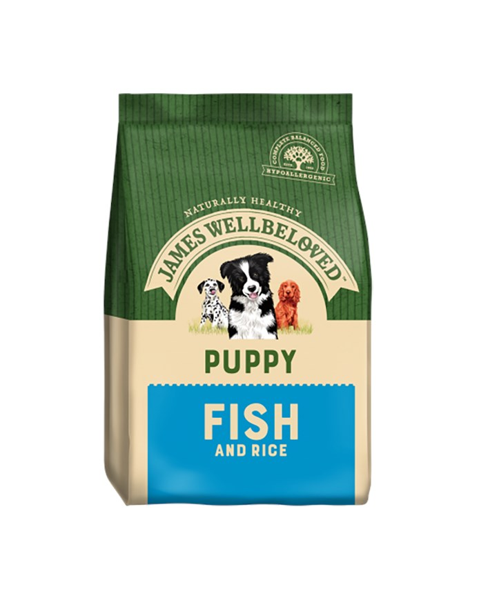 James Wellbeloved Dog Puppy Fish and Rice 2kg
