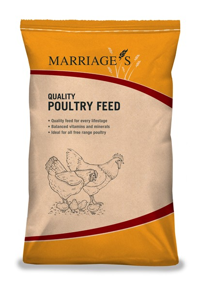 Marriage Poultry Breeder Pellets 20Kg
