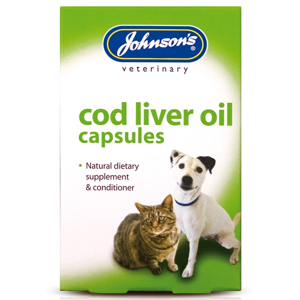 Johnsons Cod Liver Oil Caps 40