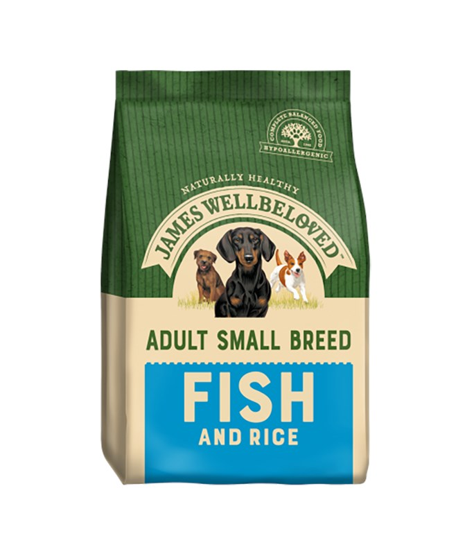 James Wellbeloved Dog Small Adult Fish and Rice 1.5kg