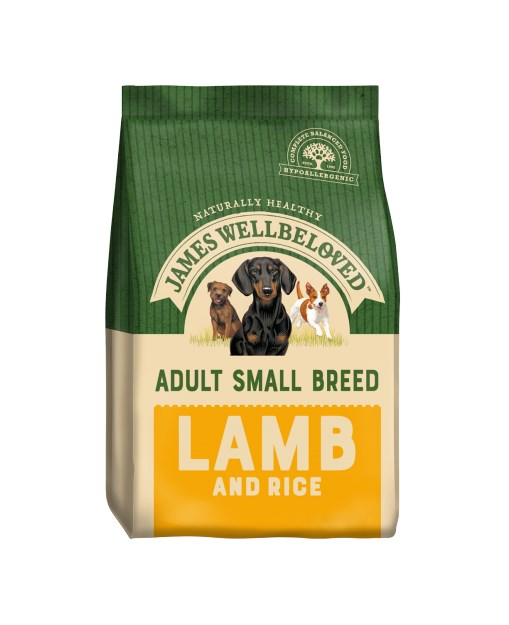 James Wellbeloved Dog Small  Adult Lamb and Rice 1.5kg