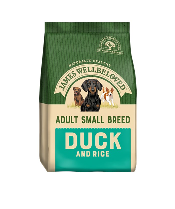 James Wellbeloved Dog Small Adult Duck and Rice 1.5kg