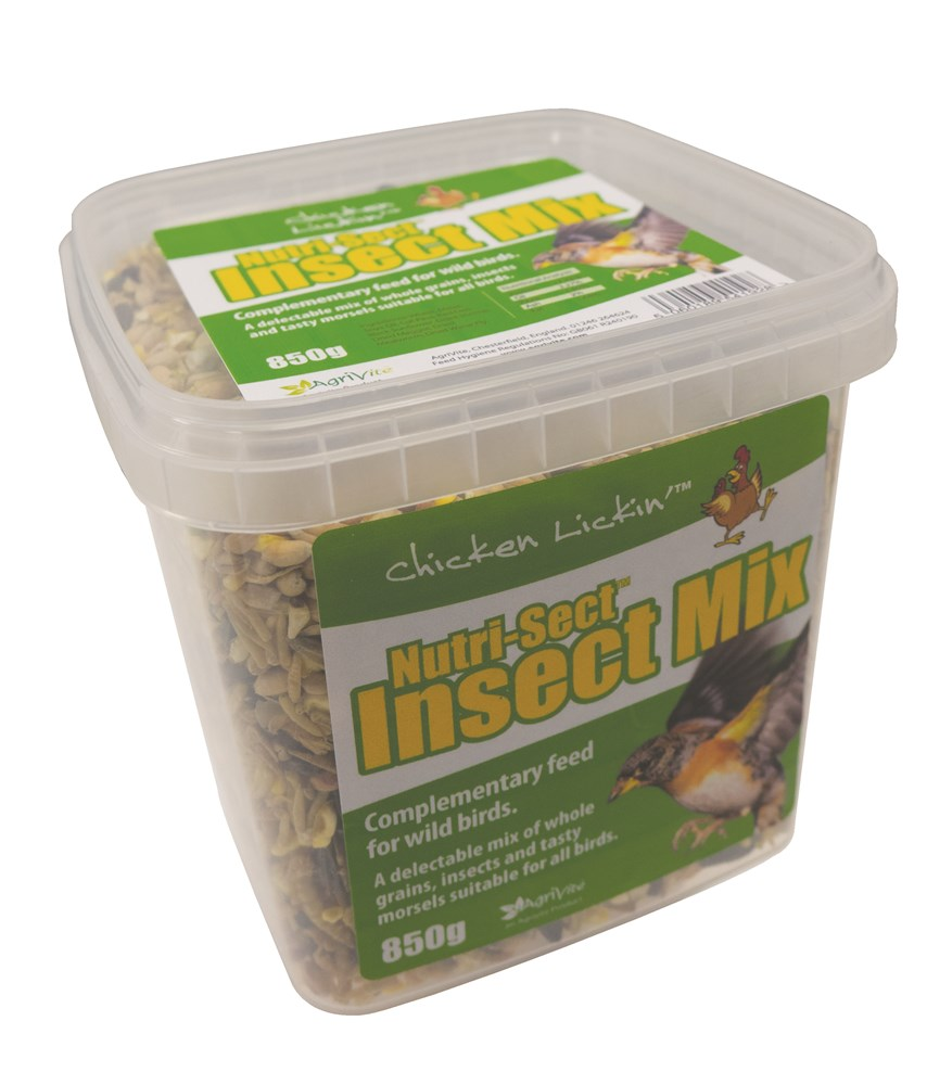 Nutri-Sect Insect Mix 850g Tub