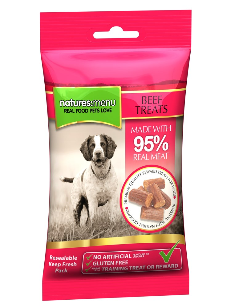 Natures Menu Chicken and Lamb Treats 60g
