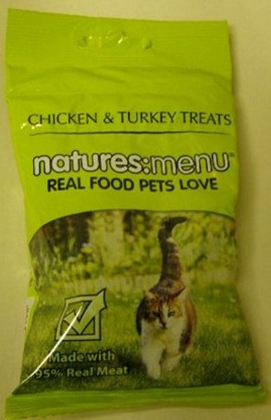 Natures Menu Chicken and Turkey Cat Treats