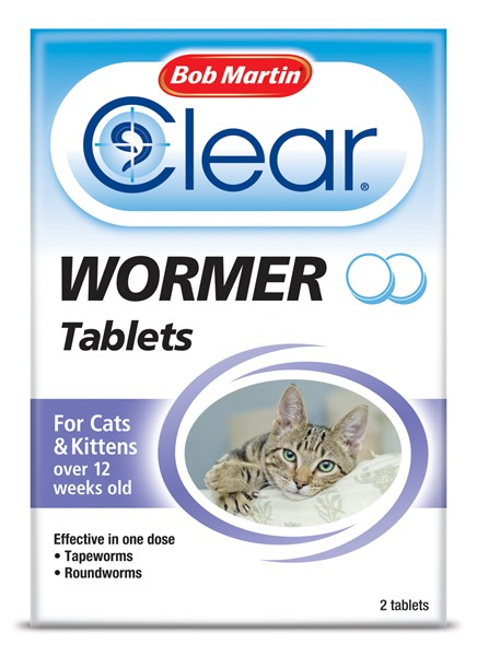 Bob Martin 2 in 1 Dewormer For Cats and Kittens 2 pack
