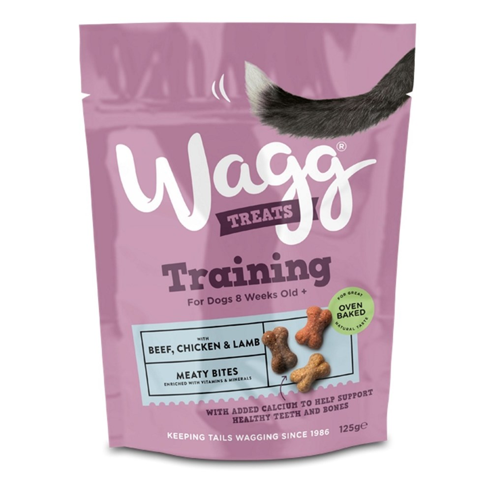 Wagg Training Treats with Beef Chicken and Lamb 125g