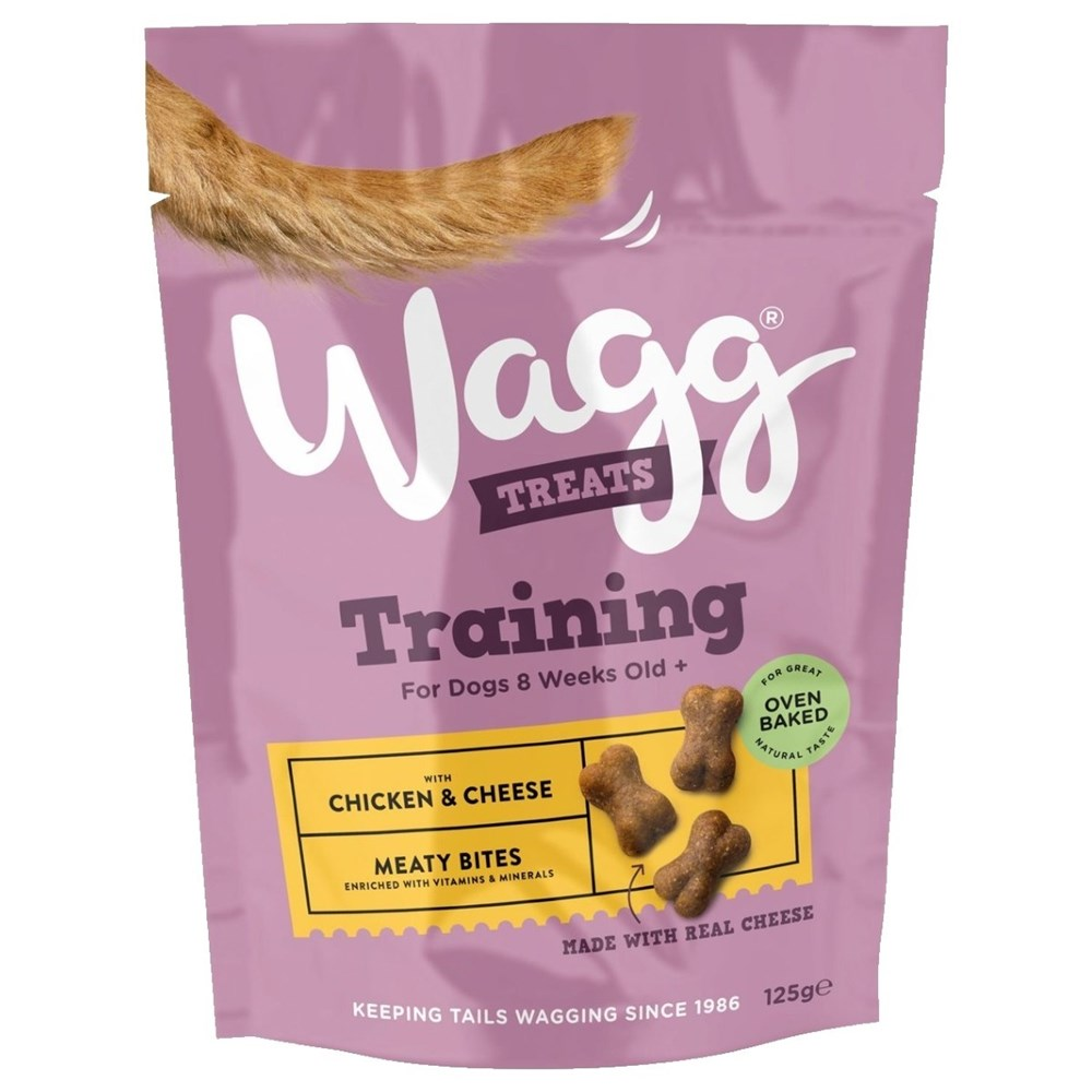 Wagg Training Treats Chicken and Cheese 125g