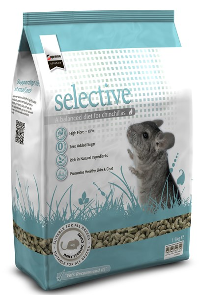 Science Selective Chinchilla Pellets 1.5Kg