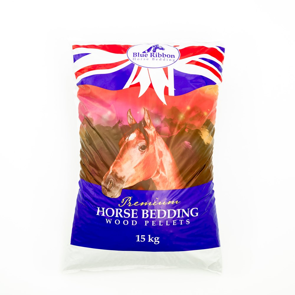 BLUE RIBBON HORSE WOOD PELLETS 15KG