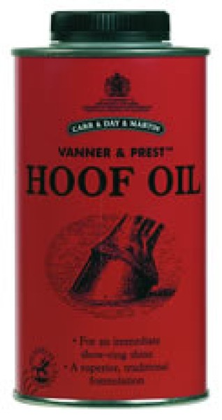 Carr Day and Martin Vanner & Prest Hoof Oil 1L