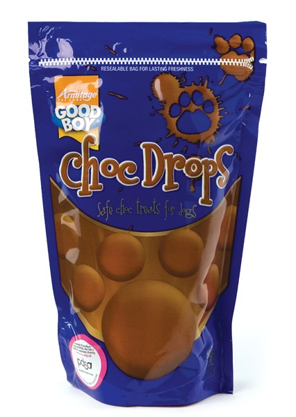 Good Boy Chocolate Drops Pouch 250g