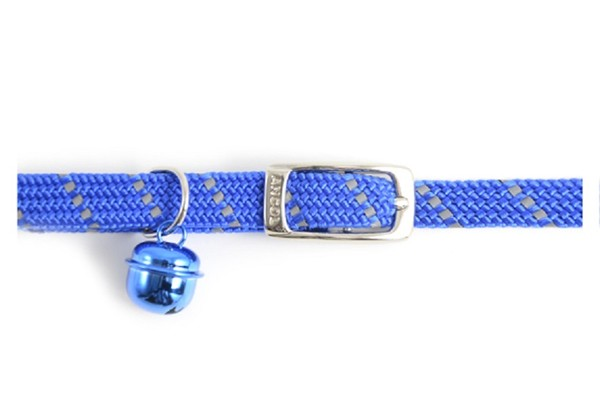 Ancol Softweave Cat Collar Blue